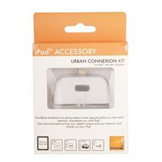 ICR22UF, MicroSD (TransFlash) , MiniSD, RS-MMC, SD, SDHC, USB 2.0, Bianco