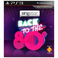 PS3 - Singstar Back to the '80s