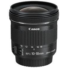 Obiettivo 10-18 mm F / 4 5-5.6 IS STM Attacco Canon EF-S