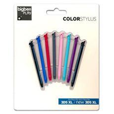 BB Stylus colorati Pack 8 pz NEW 3DS XL