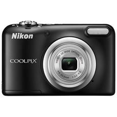 NIKON - Coolpix A10 Nero Sensore CCD 16Mpx Zoom ottico 5x...