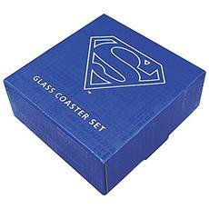 Superman Collection - Superman Set Of 4 (Set 4 Sottobicchieri)