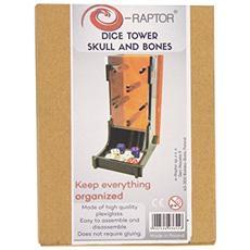 Dice Tower Skull And Bones Accessori Gioco Da Tavolo