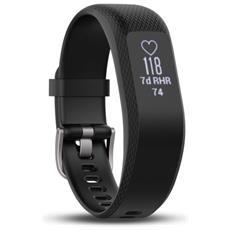 Activity Tracker VivoSmart 3 Impermeabile 5ATM Schermo Touch Bluetooth con Cardio Integrato Taglia S / M Nero - Italia