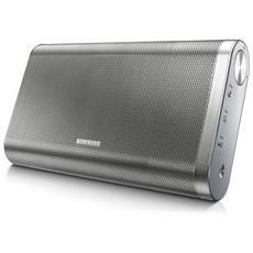 Docking Station portatile DA-F61 Wireless Potenza 20 Watt Bluetooth / NFC Colore Argento RICONDIZIONATO