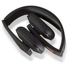 Tuis, Stereofonico, Bluetooth, Padiglione auricolare, Nero, Con cavo e senza cavo, Sovraurale