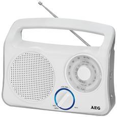 TR 4131 Radio Transistor Colore Bianca / Argento