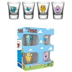 Adventure Time - Characters (Set 4 Bicchieri Piccoli)