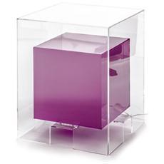 Tavolino Realizzato In Metacrilato Colore Viola Mod. Space Purple Cod. 0725