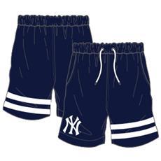 Short Anen New York Yankees Blu Bianco L