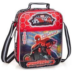 Borsa Termica Tracolla Da Pranzo Marvel Ultimate Spiderman Bambini