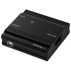 Amplificatore di Segnale HDMI - Ripetitore di segnale HDMI - 4K a 60Hz - fino a 9 Metri con Cavo standard