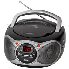 Radio Portatile SR 4351 Lettore CD colore Nero