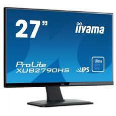 """Monitor 27"""" LCD 1920x1080 Full HD Tempo di risposta 5ms Contrasto 1000:1 Luminosità 250 cd / m²"""