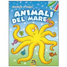 Animali del mare. Fantasie a colori