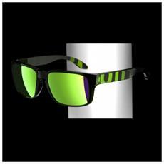 Occhiali Da Sole Verde Verde Taglia Unica