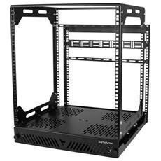 PORACK12U Freestanding rack 12U 56.7kg Nero rack