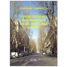 Poesie giovanili in romanesco da via Merulana a Roma