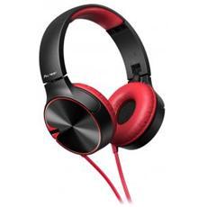 Se-mj722t Cuffie Con Microfono E Bassi Potenti - Nero / Rosso