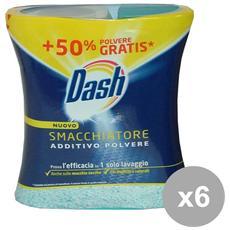 Set 6 Polvere Smacchiatore 750 Gr. Detergenti Casa