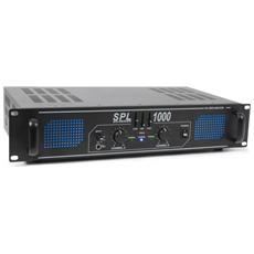 Amplificatore PA Stereo Equalizzato Potenza 1000W per DJ
