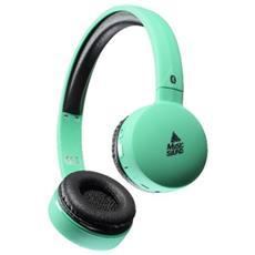 Cellularline 8018080295072 Padiglione auricolare Stereofonico Con cavo e senza cavo Turchese auricolare per telefono cellulare