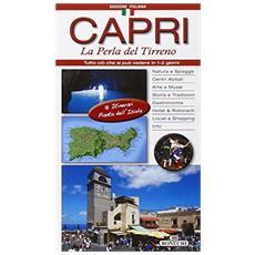 Capri. La perla del Tirreno. Con cartina