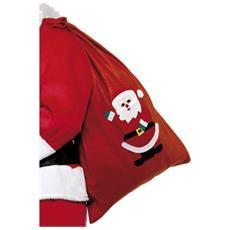 Sacco Per Regali Da Babbo Natale Taglia Unica