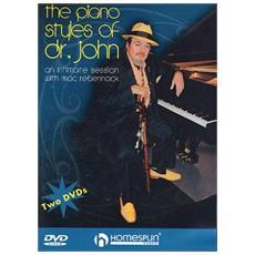 Dr John - Piano Styles Of Dr John (2 Dvd)