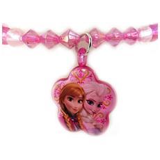 creatore bracciale 'frozen - ' cuore rosa - [ m1073]