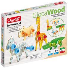 TecnoWood Animali della Savana 0735