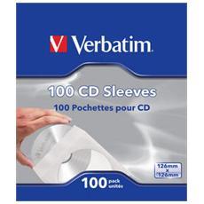 Bustine di Carta per CD / DVD 100pz