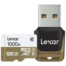 MicroSDHC / MicroSDXC UHS-II 128 GB Professional 1000x Classe 10