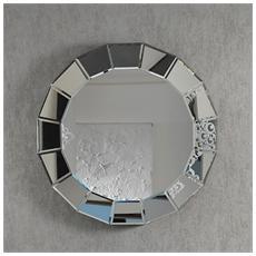 Specchio Rotondo Da Parete Dal Design Moderno Mod. Sp019