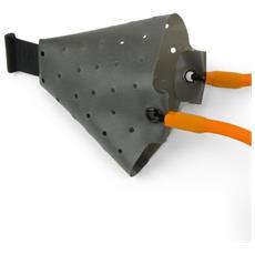 Rangemaster Powerguard Catapults Spare Multi Pouch & 2x Connectors Arancio Nero Unica