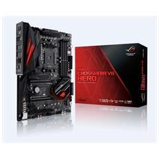 Scheda Madre Rog Crosshair VII Hero socket AM4 chipset AMD X470 ATX