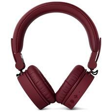 Cuffie con Microfono Bluetooth / Cablato Caps Colore Rosso Vinaccia