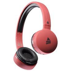 Cellularline 8018080295089 Padiglione auricolare Stereofonico Con cavo e senza cavo Rosso auricolare per telefono cellulare