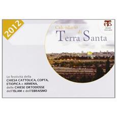 Calendario di Terra Santa 2012