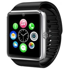 """Smartwatch GT08 Display 1.54"""" Touch Bluetooth per Android e iOS Nero - Europa"""