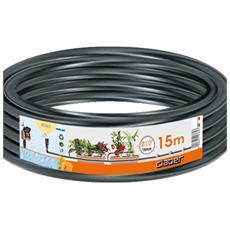 """Tubo Collettore per Irrigazione Diametro 1/2"""" Lunghezza 15 mt"""