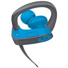 Auricolari con Microfono In-Ear Wireless Powerbeats3 Colore Azzurro