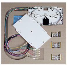 ILWL PG-LC-OM3-SET - Cassetta di giunzione con 12 Pigtail LC multimodali OM3