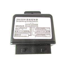 Centralina Controllo Relè per Cablaggio H4 Hi / Low Wiring Harness Controller 24V 55W per H4 Bixenon 55W