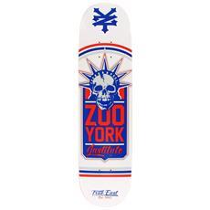 Skateboard Deck Liberty Leugue Bianco Taglia Unica