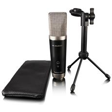 Vocal Studio - Microfono A Condensatore Usb Con Software Musicale