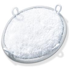 MG 17 SPA - Ricambi esfolianti Accessorio peeling a 2 lati: luffa e cotone morbido