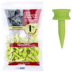 Plastic Tee 1 Lime 1'' (25mm)