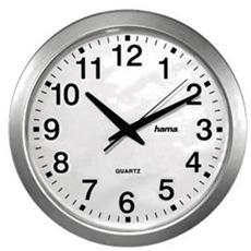 Orologio da Parete Bianco e Argento 4007249926456