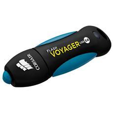 Chiavetta USB Flash Voyager Impermeabile / Antiurto 32 GB Interfaccia USB 3.0 Colore Blu / Nero